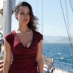 Severine and Bond on the yacht - Skyfall